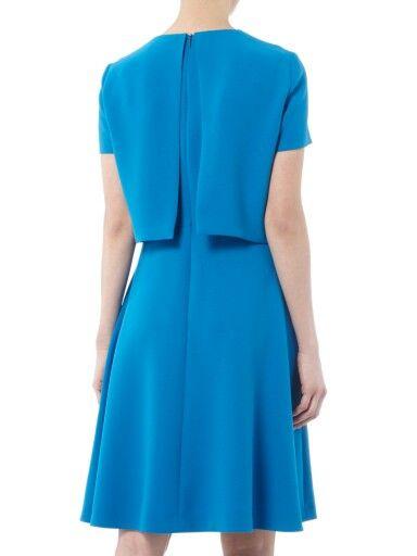 hugo boss kleid blau dicenda kleider weiblich hugo boss