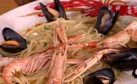 Ιταλικά #σπαγγέτι με #θαλασσινά #happyday