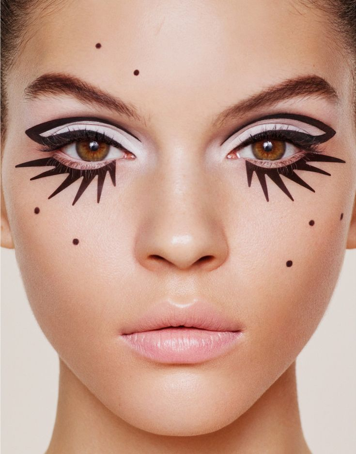 Открытки, прикольные макияжи картинки