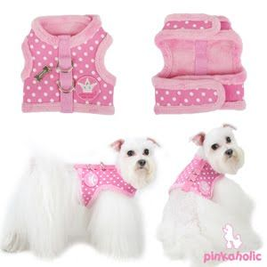"""Does velcro really hold dog strong enough for leash? """"dog harness vest free patterns"""""""