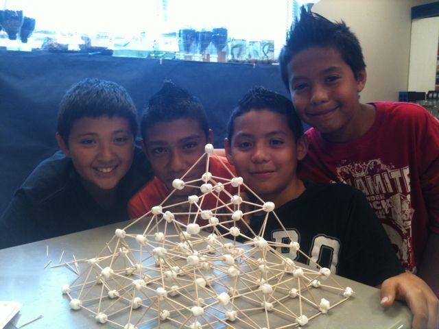 Marshmallow Pyramids!  Ancient Egypt Study :)