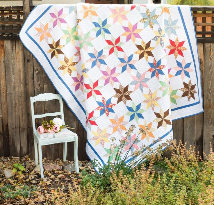 Moda 30's Playtime Oomph Quilt Kit | Craftsy