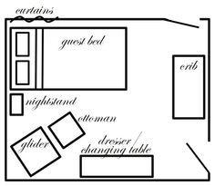 1000+ ideas about Nursery Guest Rooms on Pinterest | Mini Crib ...