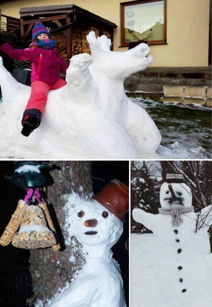 """""""Jest śnieg, są bałwany"""". Lepicie? Czekamy na Wasze zdjęcia i nagrania - http://kontakt24.tvn24.pl/jest-snieg-sa-balwany-lepicie-czekamy-na-wasze-zdjecia-i-nagrania,596,gt"""