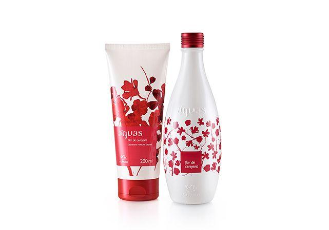 Toda a sensualidade e notas florais da flor de cerejeira. - Shop Águas