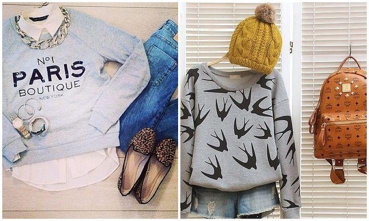 Moda inverno 2014: le felpe divertenti. Dove comprarle e come indossarle!