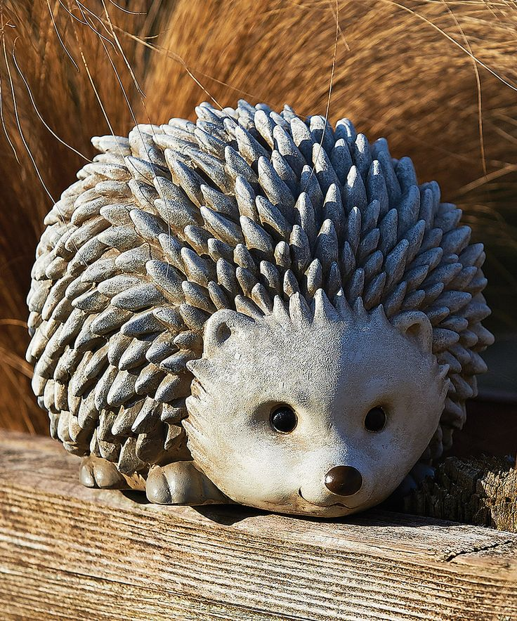 Another great find on #zulily! Gray Hedgehog Garden Figurine by Roman #zulilyfinds