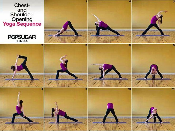 Shoulder openers | Passion Love Yoga | Pinterest