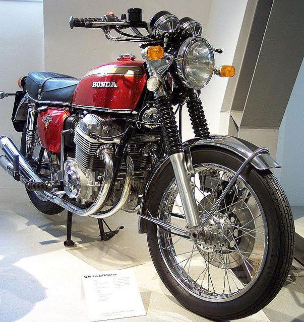 Yes! // Honda CB 750 Four 1974 by stkone, via Flickr