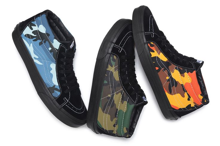 "Supreme x Vans ""Camo"" Pack: Old Skool & Sk8-Mid"