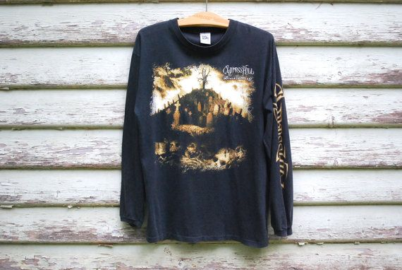 90s Vintage Cypress Hill T Shirt Faded Tee by GamineRagVintage