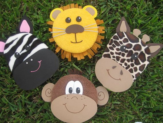 Animal invitations - give each kid a different animal invitation maybe like their personality.