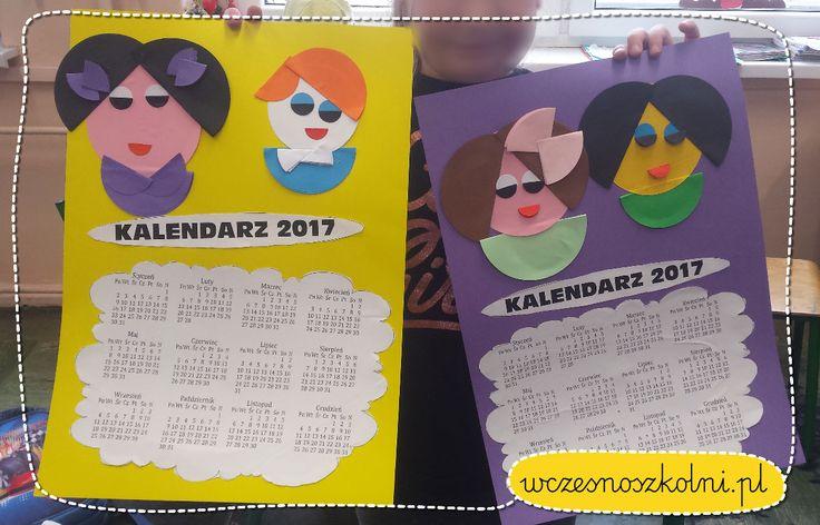 Kalendarz dla Babci i Dziadka z okazji ich święta! - Nauczyciele wczesnoszkolni!