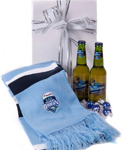 australia Gift Baskets - NSW Mighty Blues - Beer Hamper
