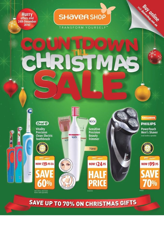 Shaver Shop Catalogue 2 - 24 December 2016 - http://olcatalogue.com/ss/shaver-shop-catalogues.html