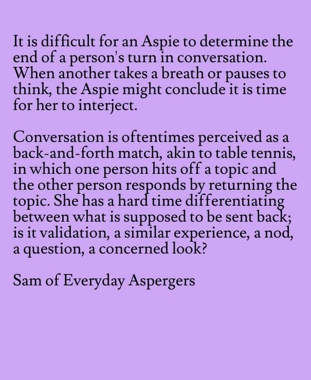 Everyday Aspergers                                                                                                                                                      More