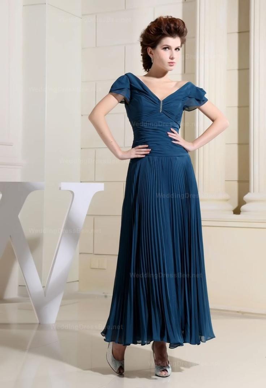 79 best bridesmaid dresses images on pinterest bridesmaids deep v neck short sleeves pleated skirt chiffon dress 17898 ombrellifo Choice Image