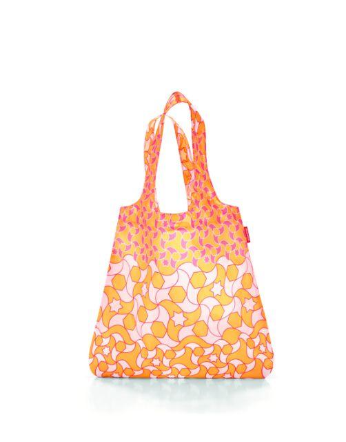 Reisenthel Mini Maxi Shopper Orange Geometric
