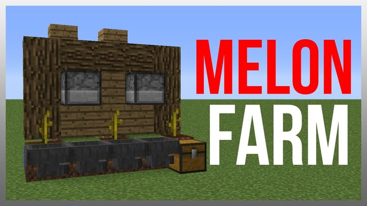 Minecraft 1.9: Redstone Tutorial - BEST Melon/Pumpkin Farm! (Tileable)
