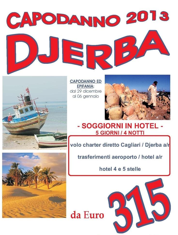 Epifania e Capodanno a Djerba con voli diretti da Cagliari