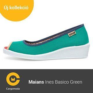 Maians Ines Basico Green - Megérkezett az új tavaszi-nyári Maians kollekció! www.cargomoda.hu #cargomoda #maians #madeinspain #handcrafted #springsummercollection #spring #summer #mik #instahun #ikozosseg #budapest #hungary #divat #fashion #shoes #fashion