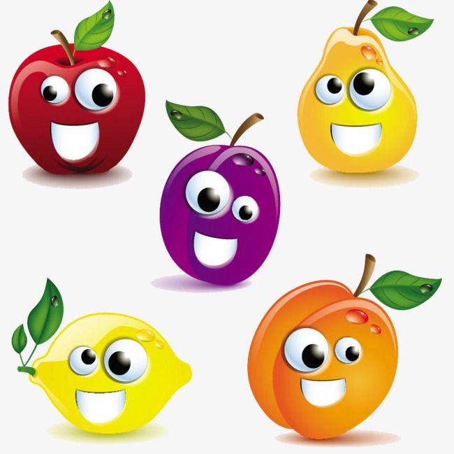 Desenhos De Frutas Cartoon Material De Desenho Animado Desenhos