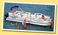 Panama City Pontoon Boat Rentals in the Gulf. $199/half day or $299/full day, both include gas. Rent & drive own pontoon boat to Shell Island to do your own exploring as a family.  They give you a quick driving lesson & then you are off. Adventures At Sea, 850-235-0009. Located across the street from the Capt Anderson's Restaurant.