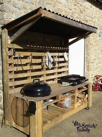 Küchenpaletten für den Außenbereich – Marie-Pierre Gérard