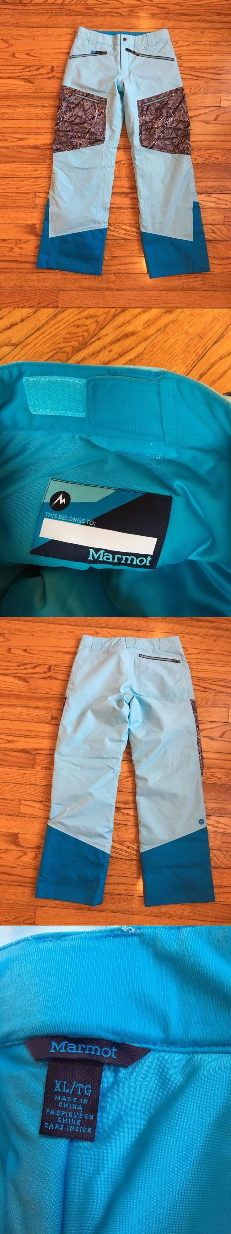 Snow Pants and Bibs 36261: Marmot Boy S Freerider Snow Pant Blue Bluefish Shred Brand New Without Tag Xl -> BUY IT NOW ONLY: $57 on eBay!