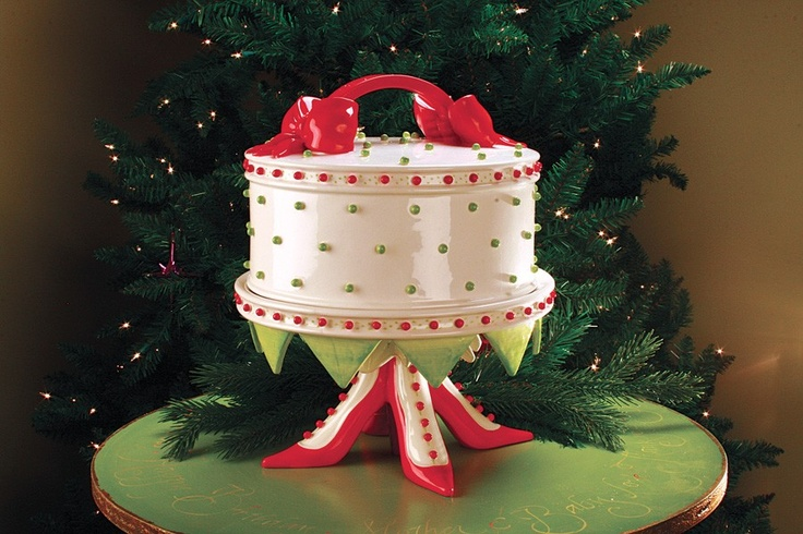 Krinkles Cake Dome And Stand