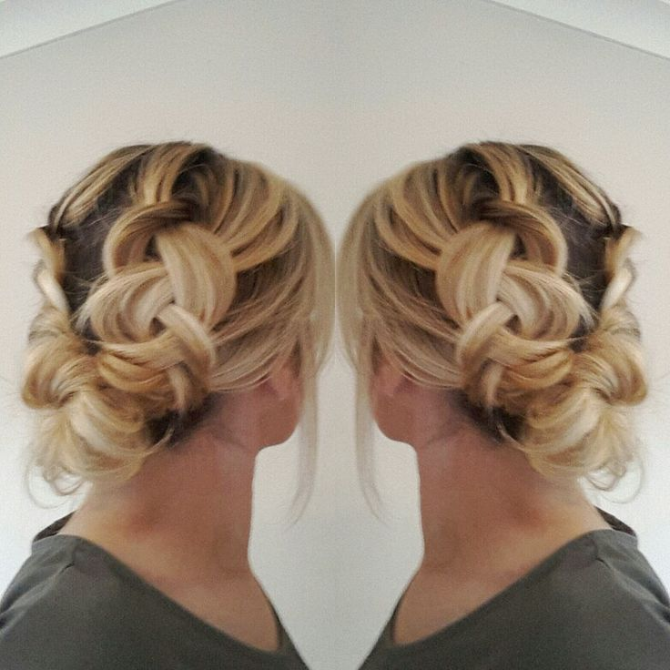 Dutchbraids updo