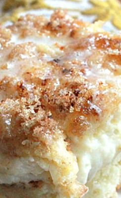 stuffed cinnamon roll bake