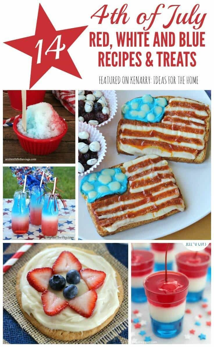19 Best Festive Fourth Of July Decor Images On Pinterest July 4th Craft Ideas And Decorating