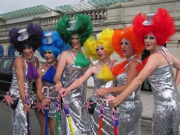 Have a crazy time at Pride.Brighton's known for its extravagant and fun Gay Pride in August. Expect to see colourful people in an extremely colourful atmosphere. Fun guaranteed. | 51 Things You Simply Must Do In Brighton