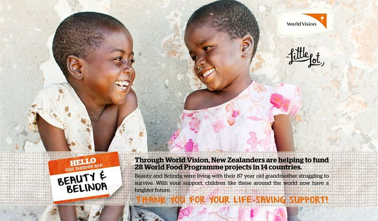 Little Lot | Beauty and Belinda from World Vision | Feb 20