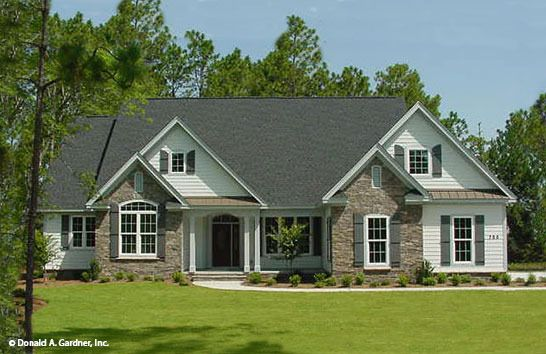 Plan of the week under 2500 sq ft the hardesty 1287 for 2500 sq ft ranch house plans