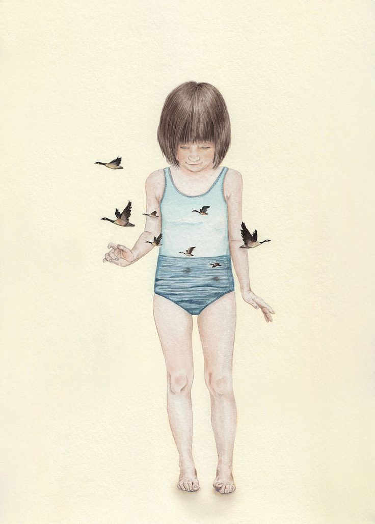 Innocence and Naivety in Tahel Maor's Drawings – Fubiz Media #art #Journal #inspiration www.agencyattorneys.com