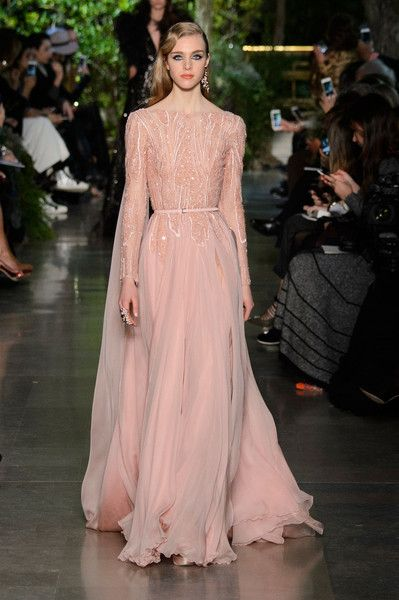 Elie Saab at Couture Spring 2015 | Stylebistro.com