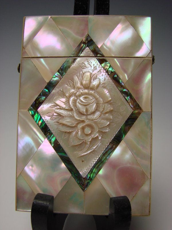 84 best Antique    Calling Card Holders, Trays, Letter Holders ...