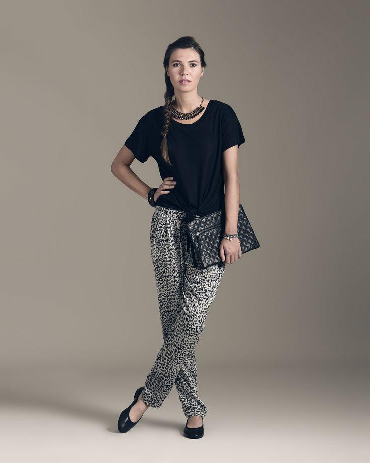 Pantalón pijama con estampado leopardo: ¡atrévete!
