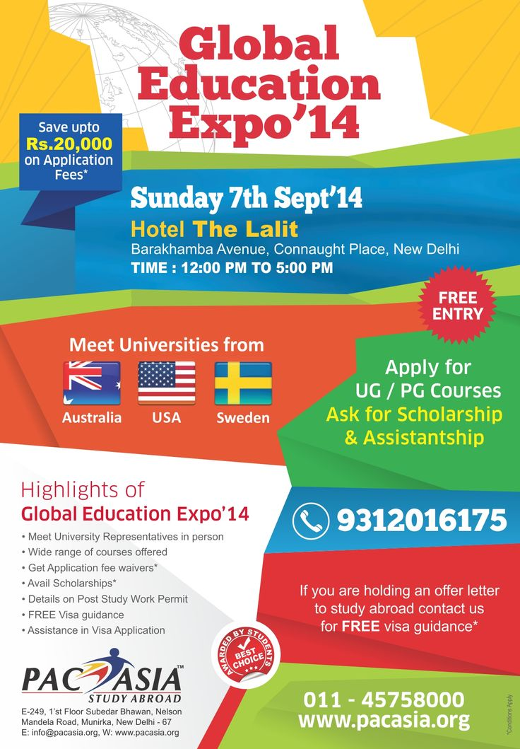 GLOBAL EDUCATION EXPO 2014, Events, entertainment in Mumbai