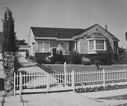 House in North Balwyn, 1959