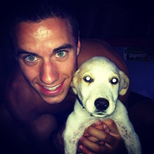 Photo of Jake Dalton & his  Dog