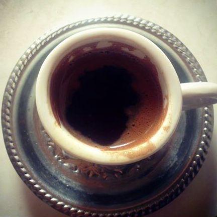 a traditional Greek coffee