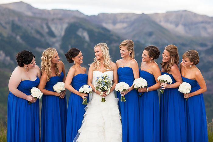 24 - Vestido de Madrinha - azul