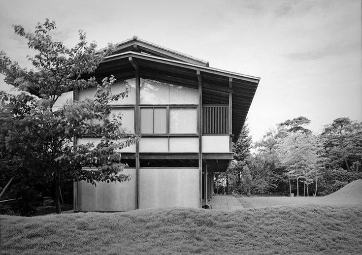 : 315. Kenzo Tange /// Tange House /// Seijo, Tokyo,...