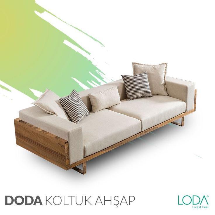 Salonunda dingin ve huzurlu bir atmosfer yaratmak isteyenlerin tercihi; Ahşap Doda Kanepe Nereye giderseniz gidin onun konforu hep aklınızda olacak.