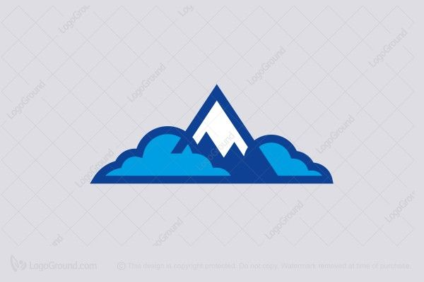Mountain And Clouds Logo Logos Travel Health Insurance Clouds