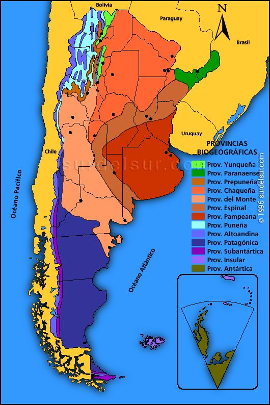 Best Los Indigenas La Geografia Y El Clima Images On Pinterest - Physical map of argentina