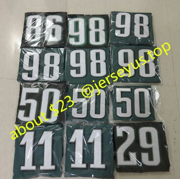 customer bought these eagles jerseys #eagles #football #niners #footballfamily #funnymemes #nfceast #cowboys #lol #panthers #panthersnation #eaglesnation #nfl #dolphinsnation #ravens #phillypride #ravensnation #dolphins philly #follybeach #sun #folly #beachbum #philadelphia #eaglessuck #chargers #49ers #lions #packers #steelers